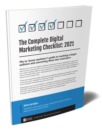 The Complete Digital Marketing Checklist